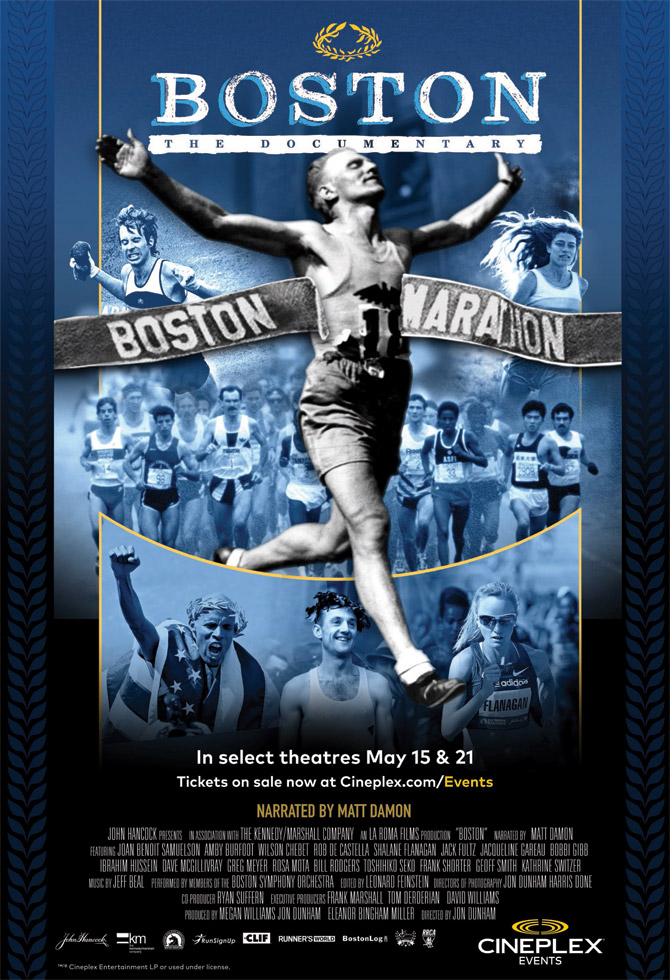 """lmost two dozen MDI runners gathered in Toronto for a select screening of """"Boston: The Documentary,"""" the first full length feature film on the entire ..."""