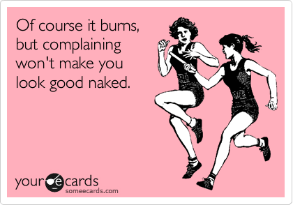 "You hear it all the time from your non-running friends & family, don't you—that running looks like it's ""all just about sex!"" Skimpy clothing, sweaty bodies ..."
